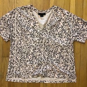 Sanctuary Blush Leopard Print t-shirt S
